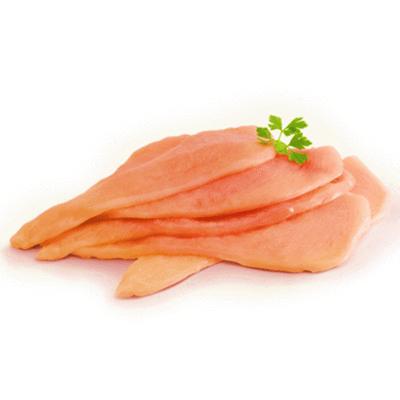 Bistecs de pechuga de pollo Bolsa de 600 g (aprox)
