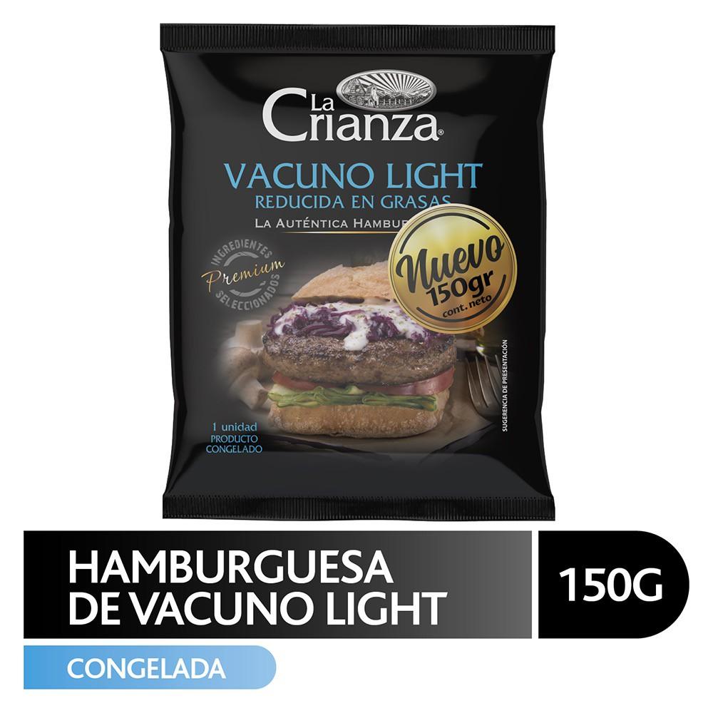 Hamburguesa vacuno light