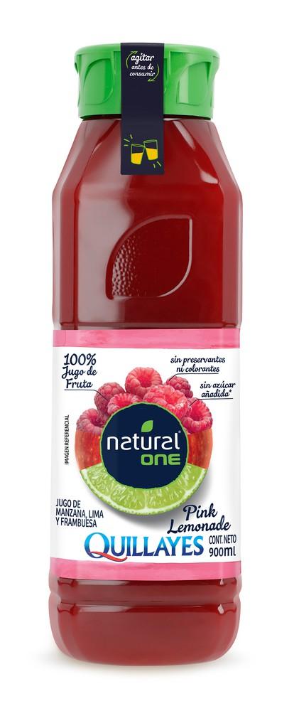 Jugo Natural One pink lemonade