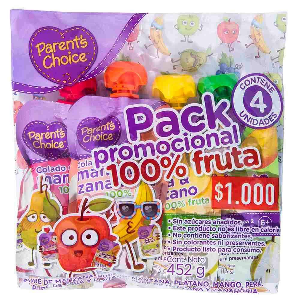 Pack Colados 100% Fruta
