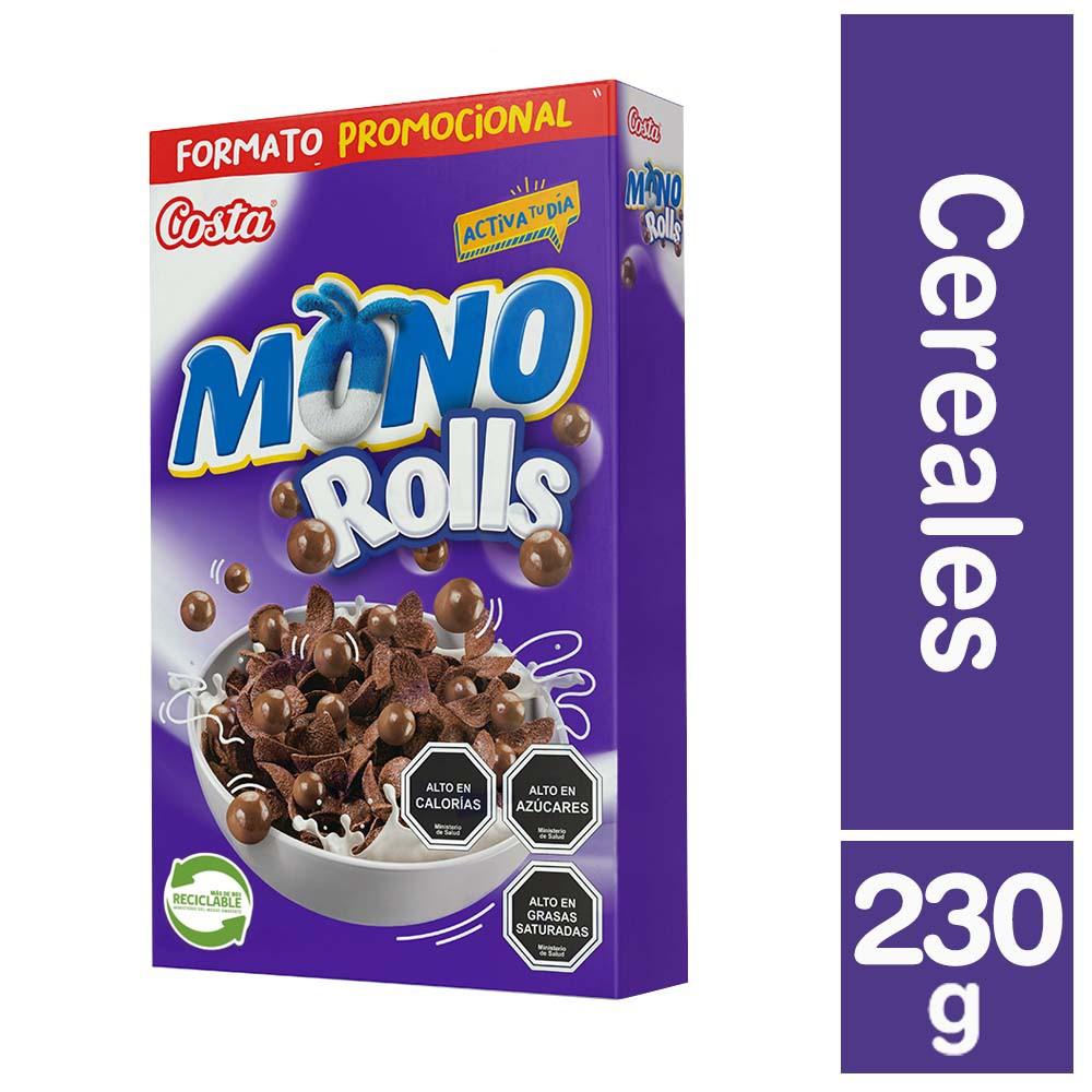 Cereal con Rolls de chocolate