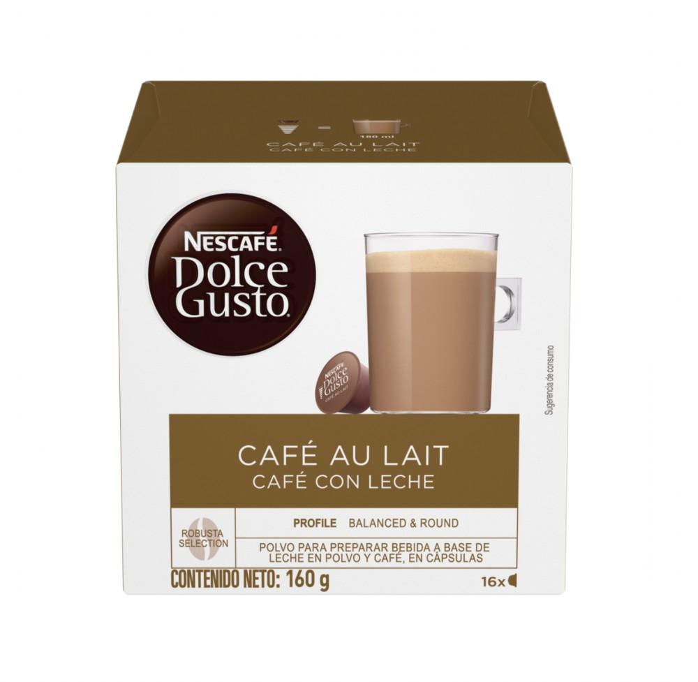 Cápsulas de café con leche
