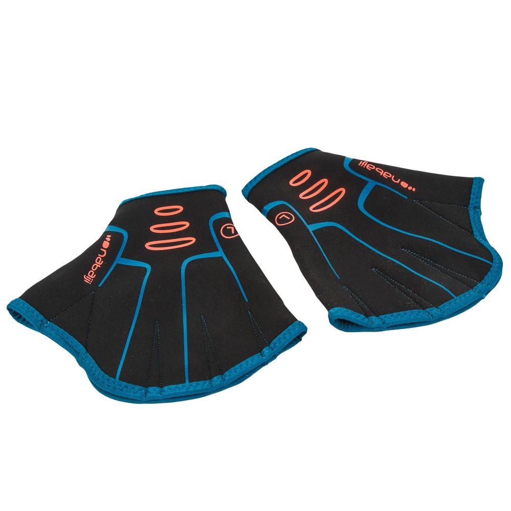 Aquafitness Neoprene Gloves Pair - Black Size: L