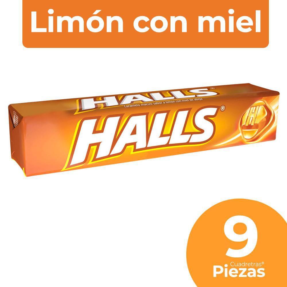 Caramelos duros sabor limón con miel