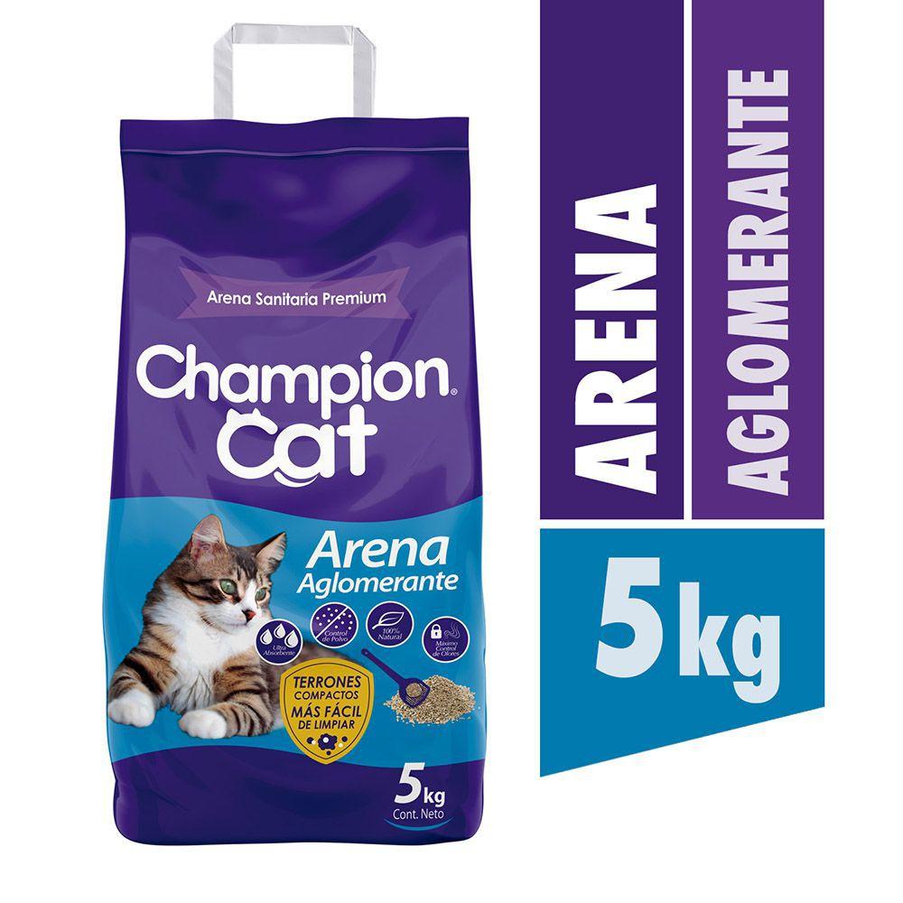 Arena para gato aglomerante premium