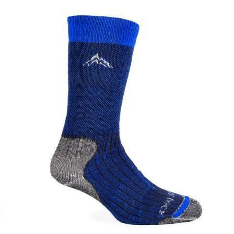 Calcetín trekking azul y gris talla xl
