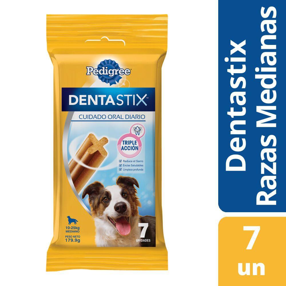 Snack dentastix razas medianas pedigree x 7un