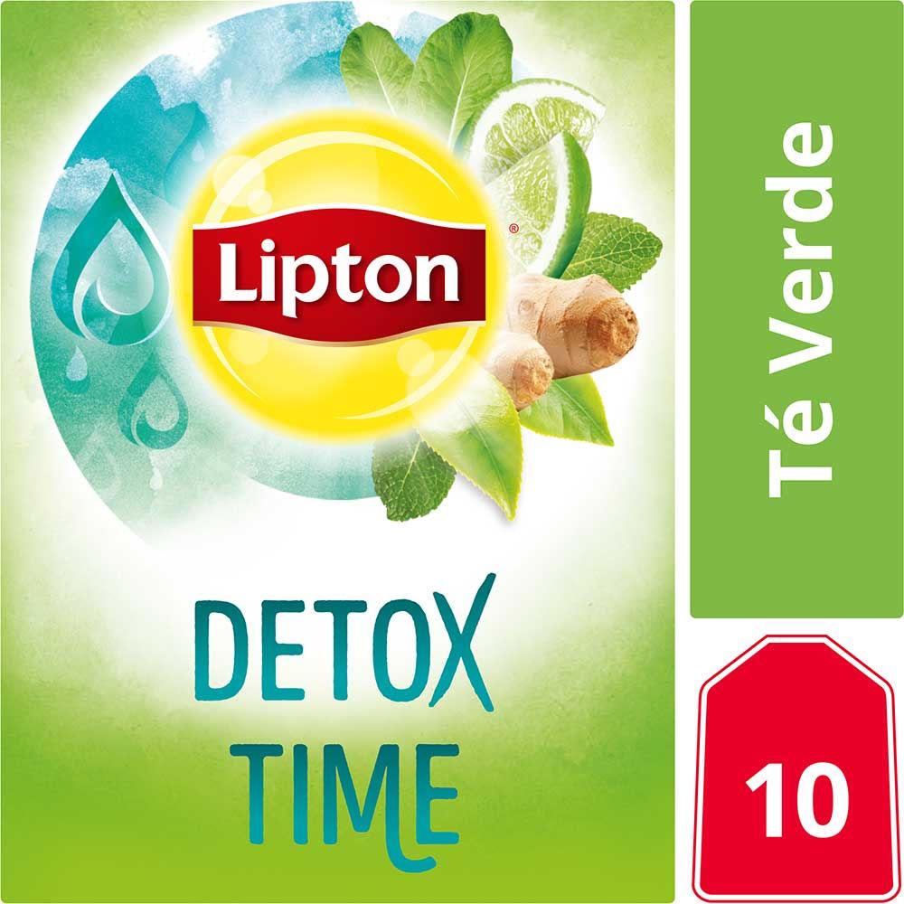 Té verde detox time