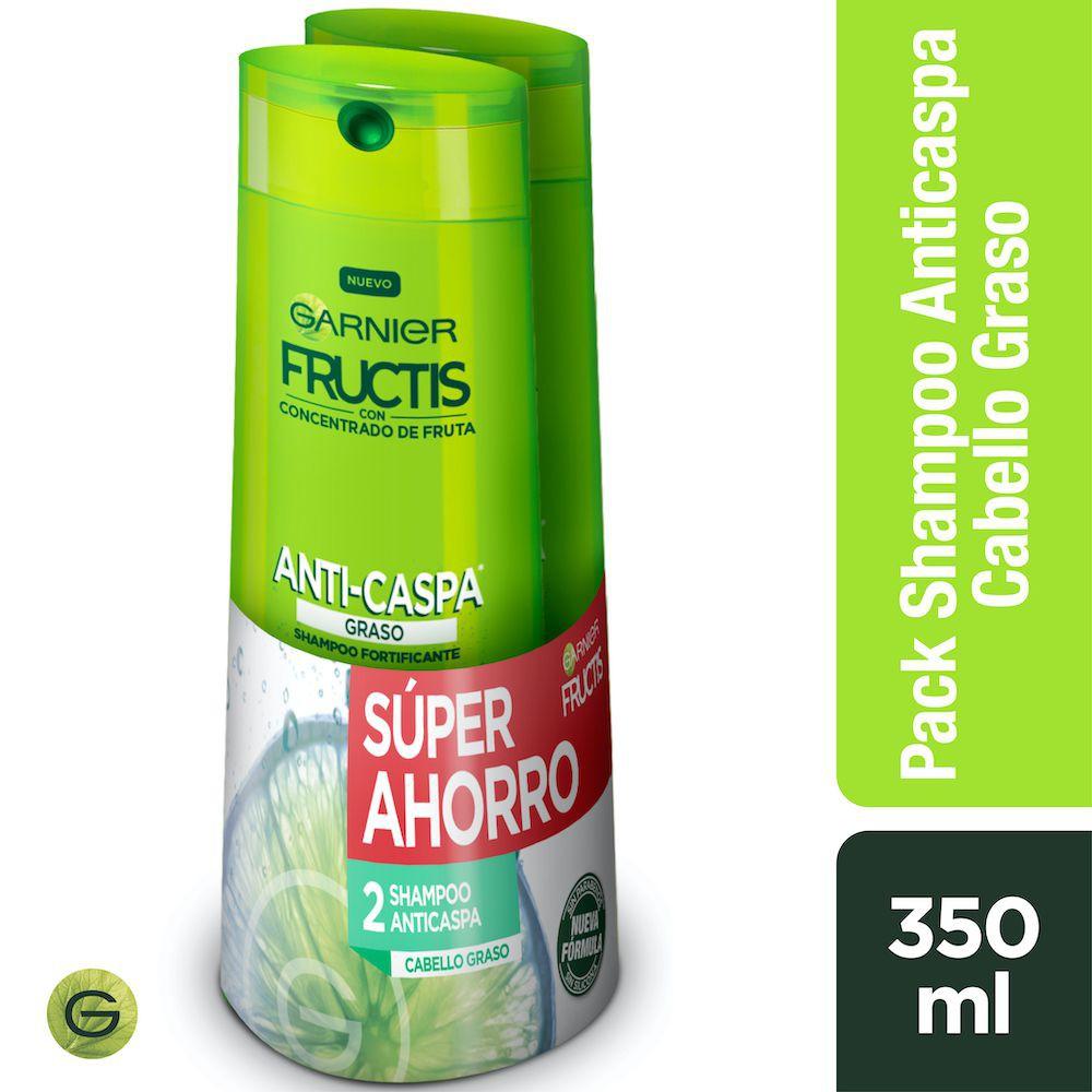 Shampoo anti-caspa cabello graso
