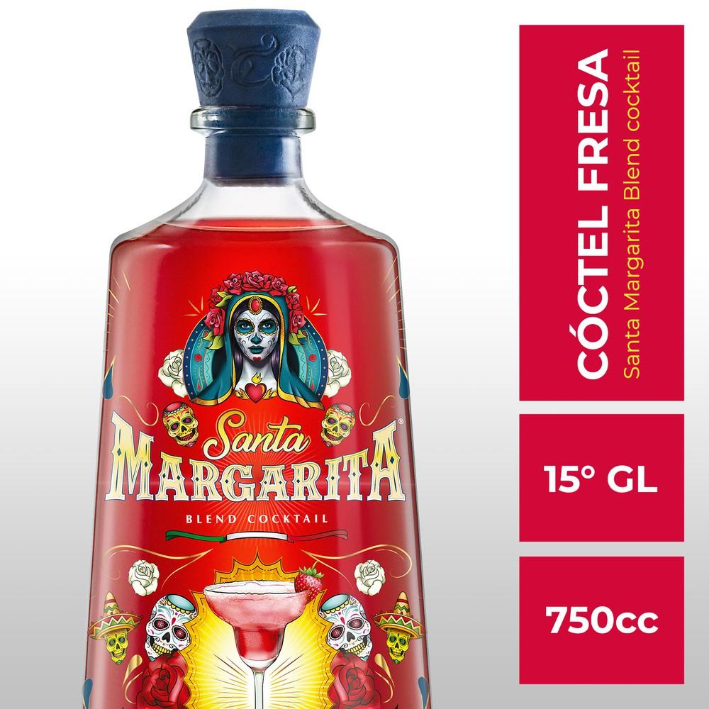 Cocktail sour sabor fresa