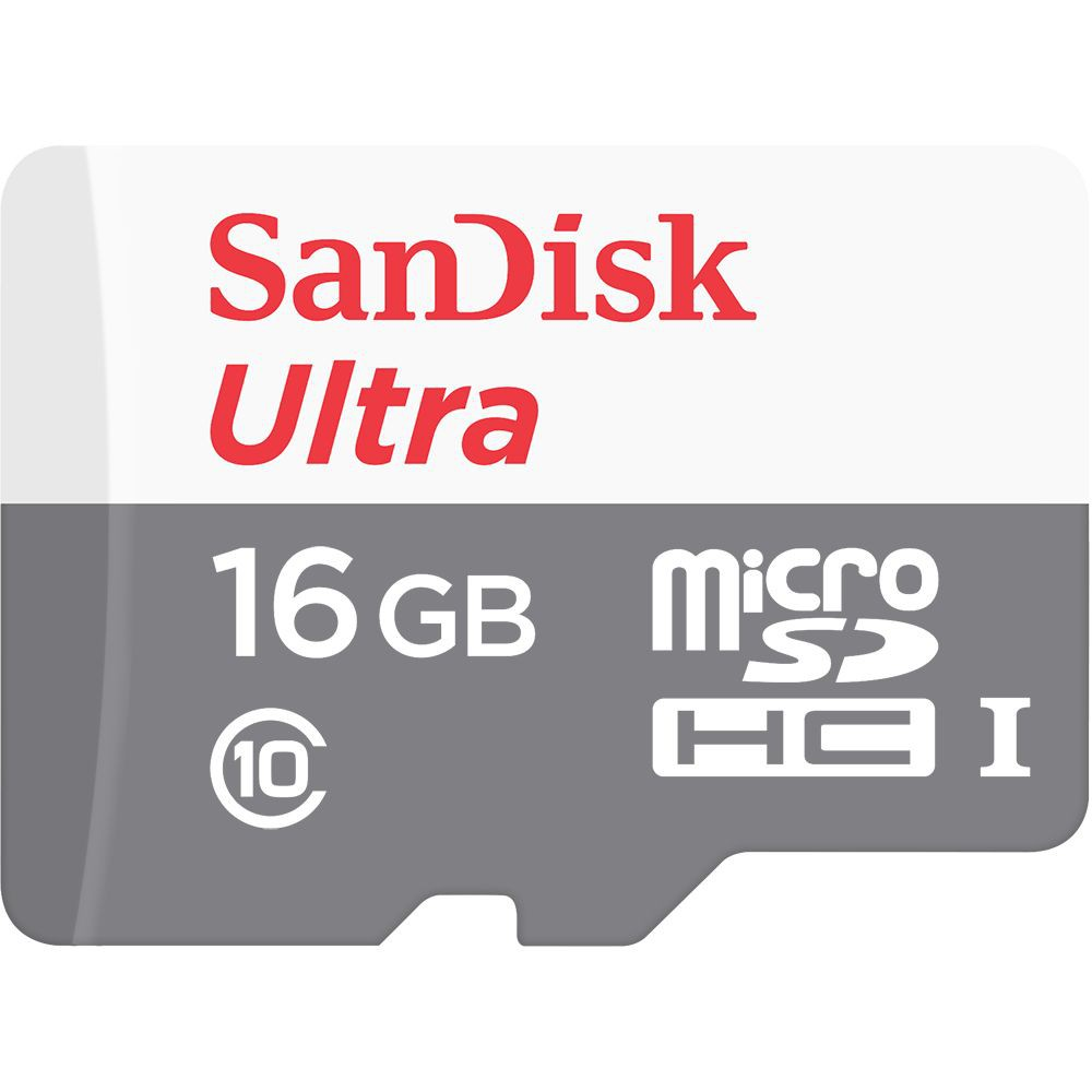 Tarjeta de Memoria MicroSD 16Gb Clase 10 Ultra