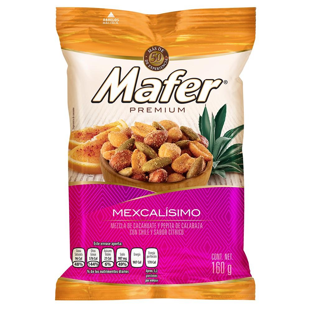 Cacahuates premium mexcalisimo