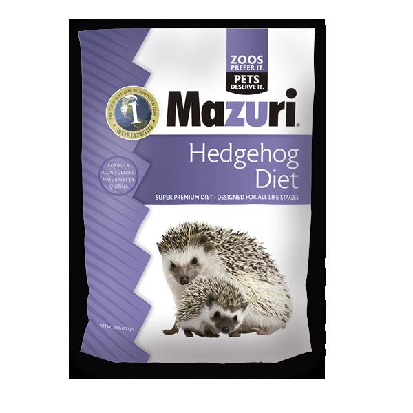 Hedgehog diet alimento para erizo de tierra 1.5 Kg