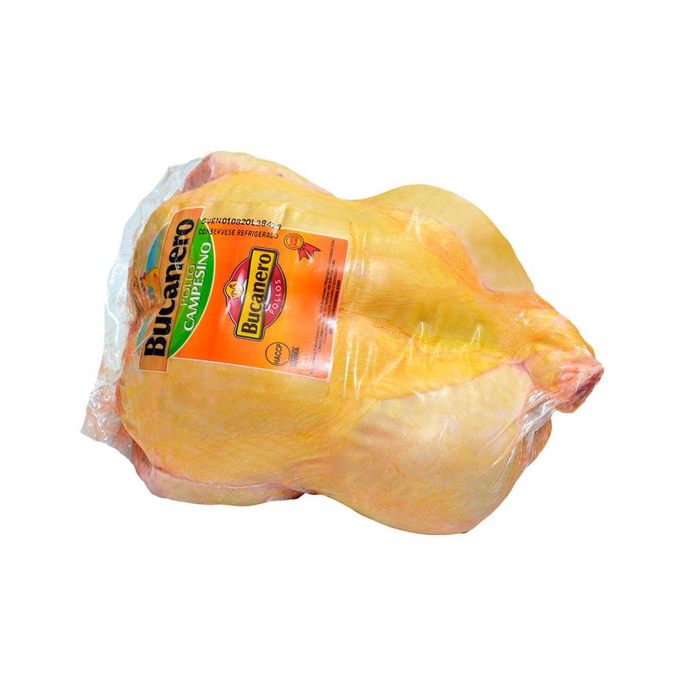 Pollo sin visceras campesino al vacío
