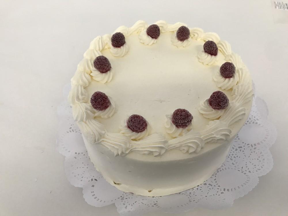 Torta merengue frambuesa 12 personas