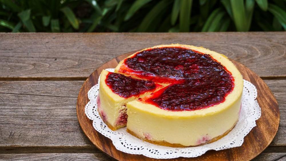 Cheesecake de Frambuesas (libre de azúcar) unidad