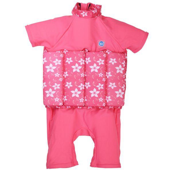 Traje baño flotador pink bloosom