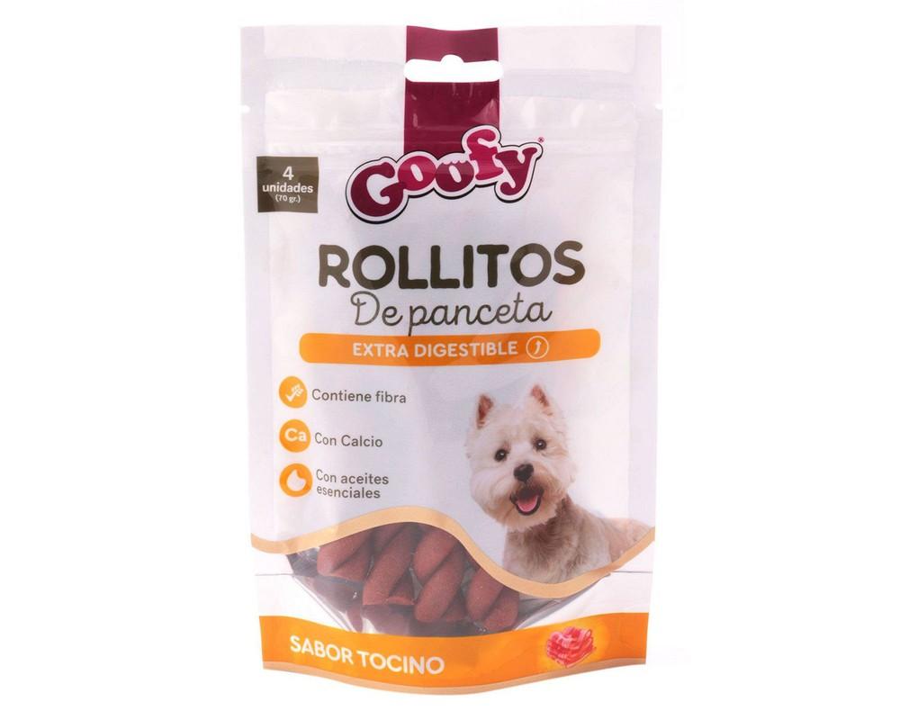 Snack rollitos de panceta Doypack 70 g