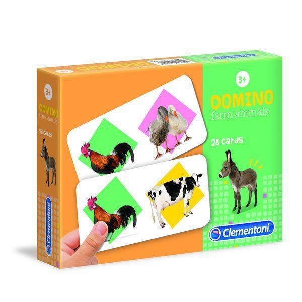 Domino animales de la granja