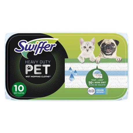 Pet heavy duty multi surface wet cloth refills