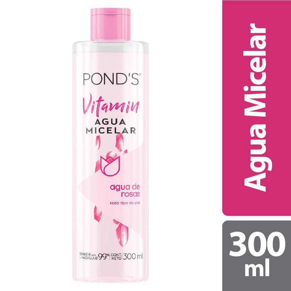 Agua micelar vitamin agua de rosas