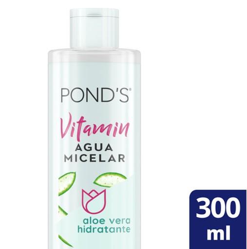 Agua micelar vitamin aloe vera