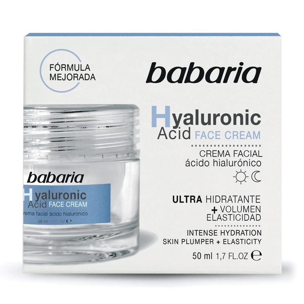 Crema facial ácido hialurónico