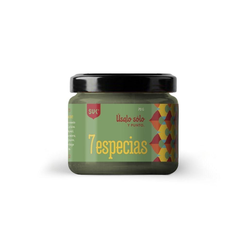 7 especias (baharat) Frasco 70 grs