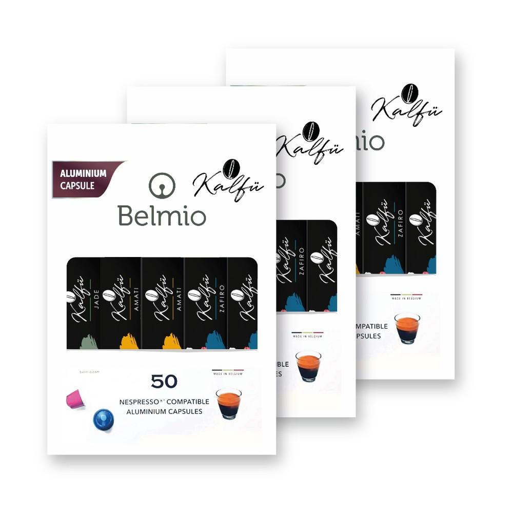 Pack renacentista 150 cápsulas café kalfu