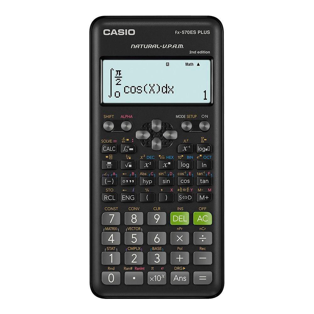 Calculadora científica fx-570 es plus