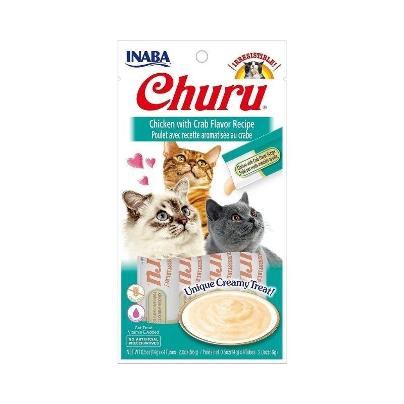 Inaba churu chicken with crab 56 gr