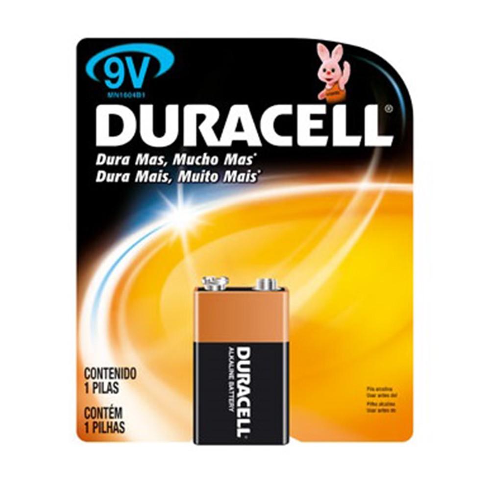 Bateria alcalina 9 volt.