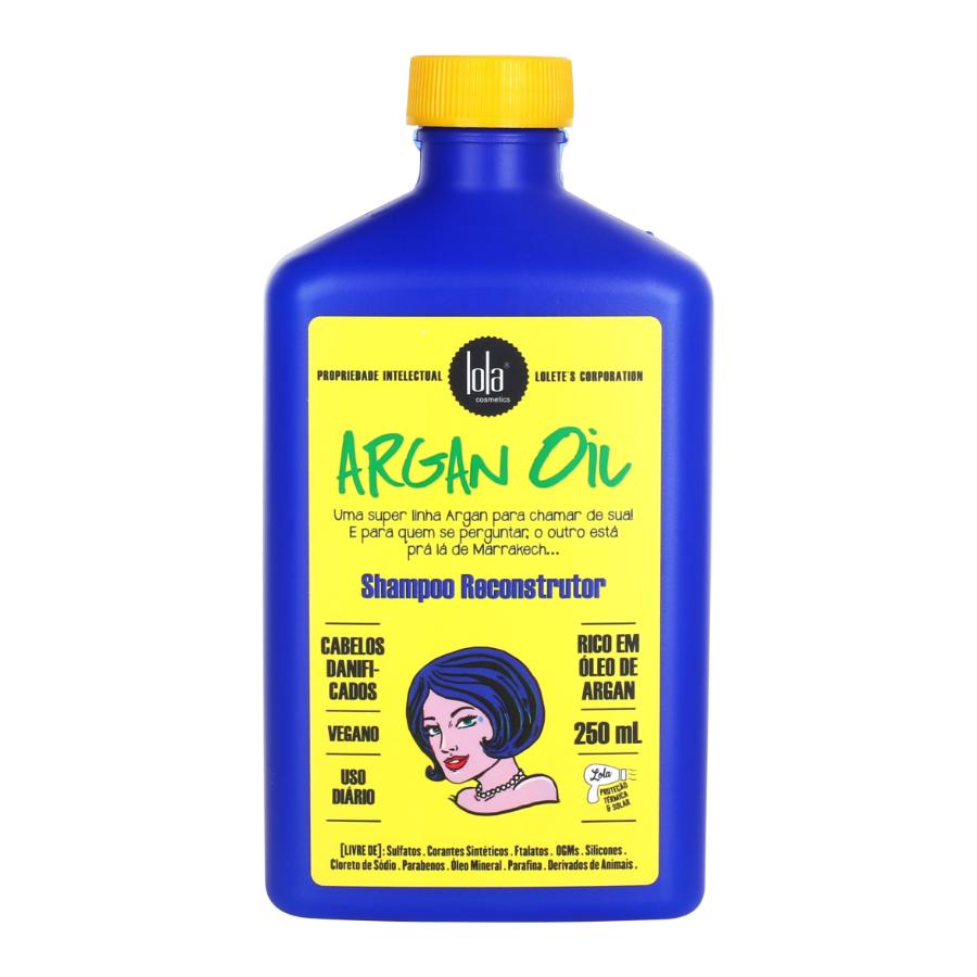Shampoo argán reconstructivo