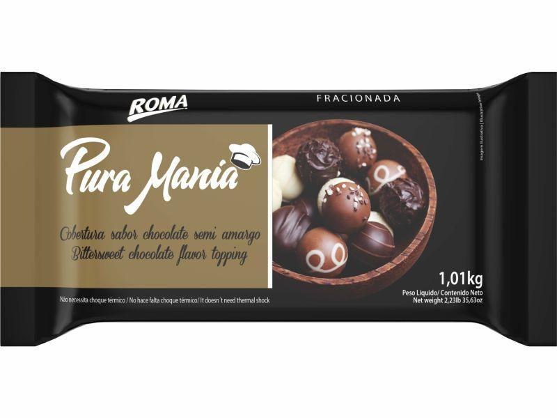 Chocolate semi amargo Pura Mania