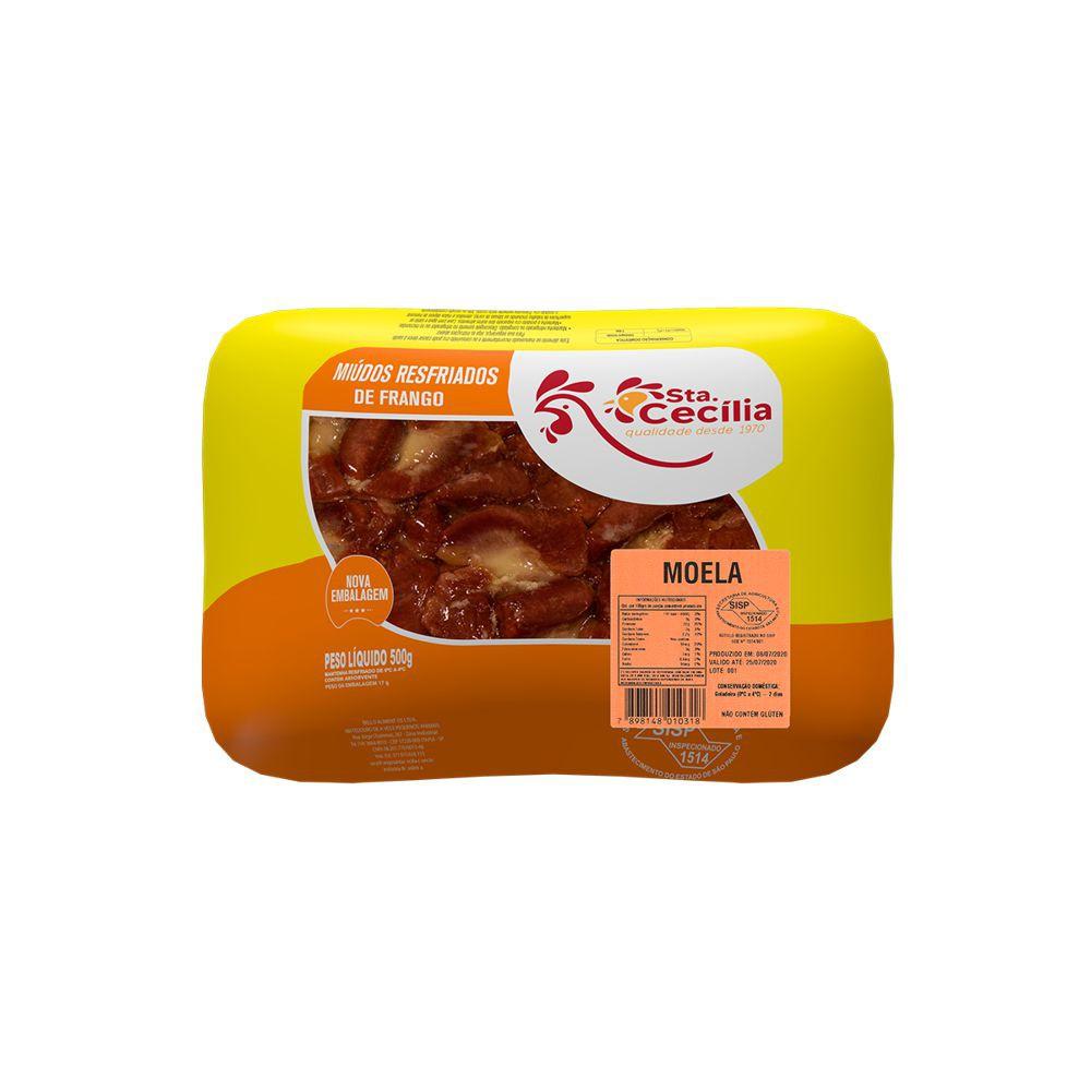Moela de frango resfriada