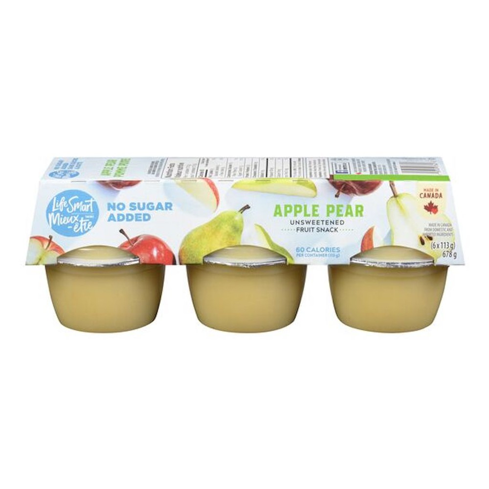 Apple pear unsweetened fruit snacks