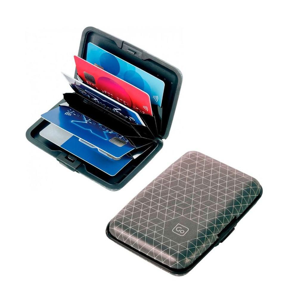 Porta tarjetas aluminio rfid GT686