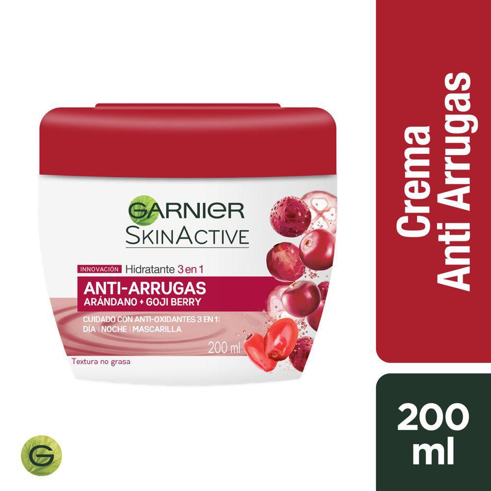 Crema hidratante 3-en-1 anti-arrugas