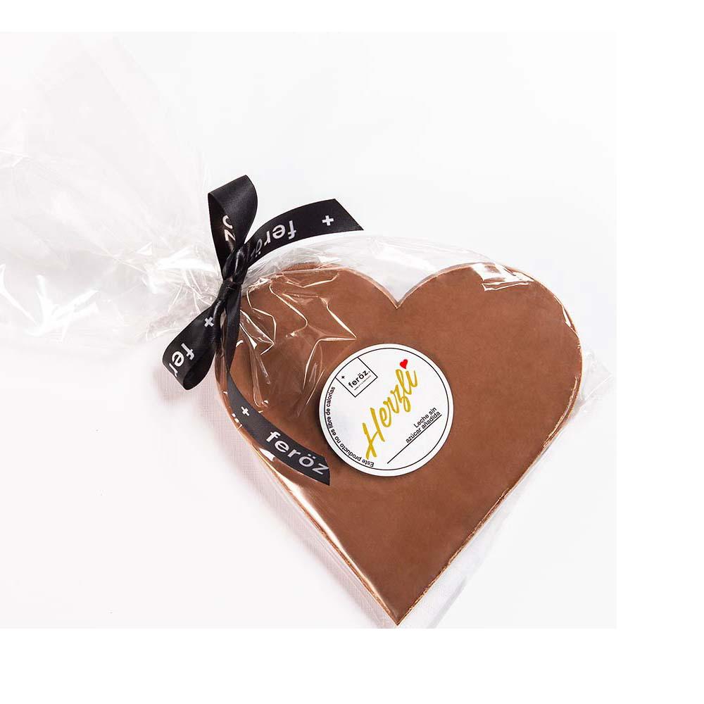 Corazón Leche (Sin Azúcar).