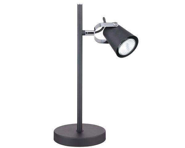Lámpara de escritorio aurus gu10 negro mate