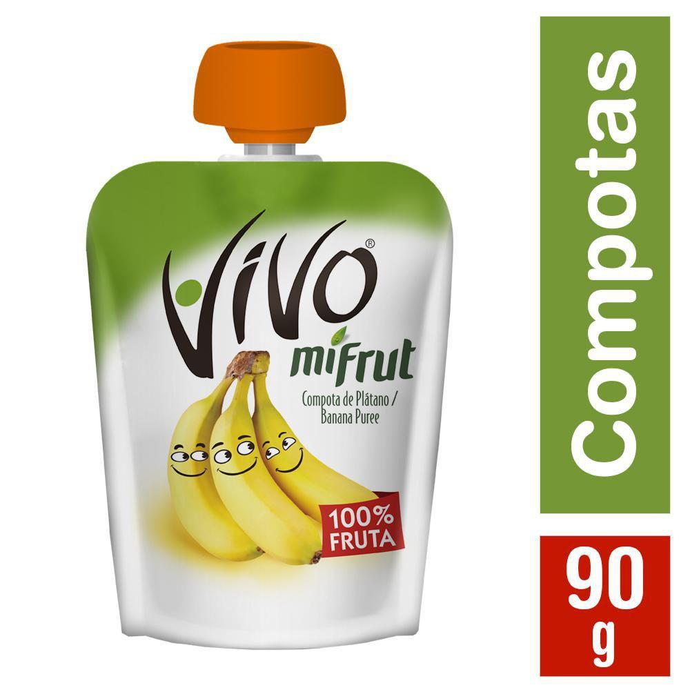 Mi Frut compota de plátano