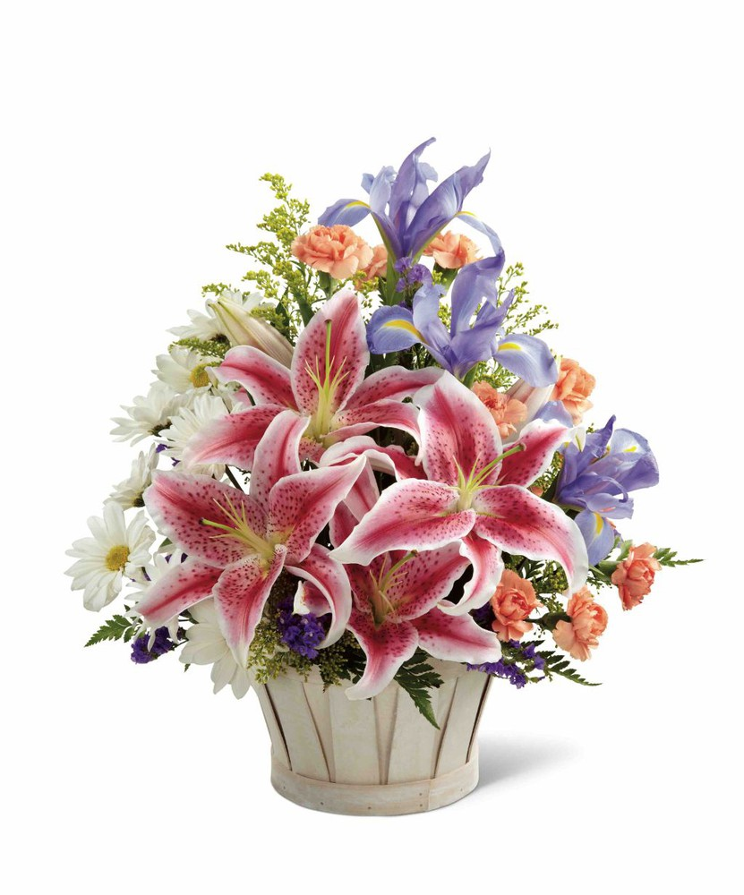 The FTD® Wondrous Nature Bouquet - Deluxe Size In a Basket