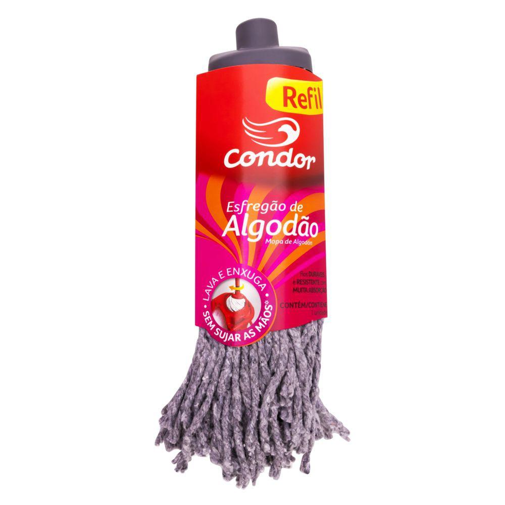 Refil para mop cabeleira de algodão