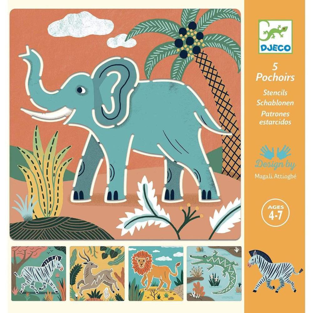 Plantillas de dibujo animales salvajes