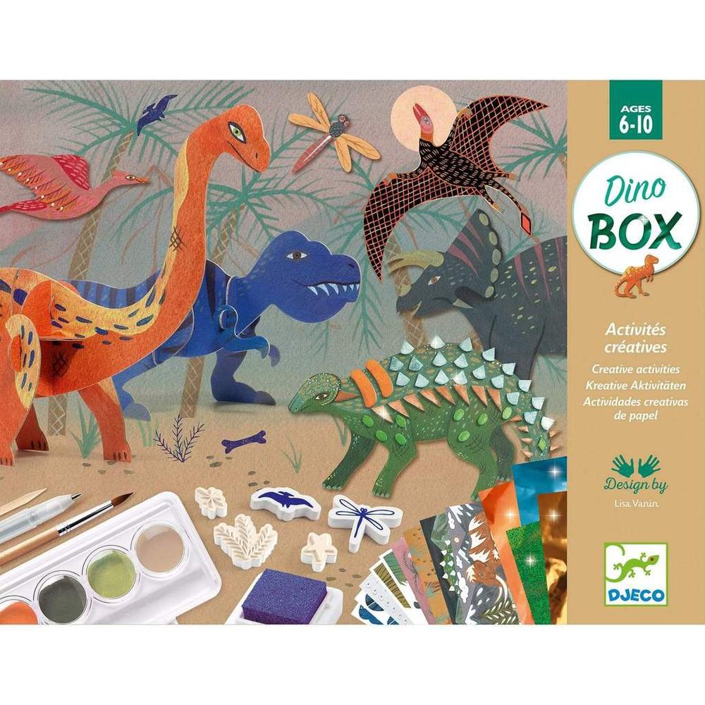 Juego de manualidades dinosaurios