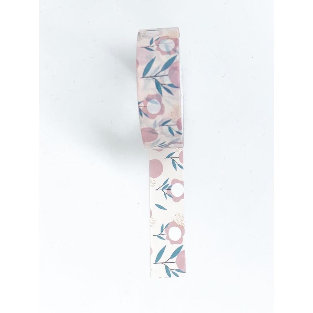 Washitape diseño clavel