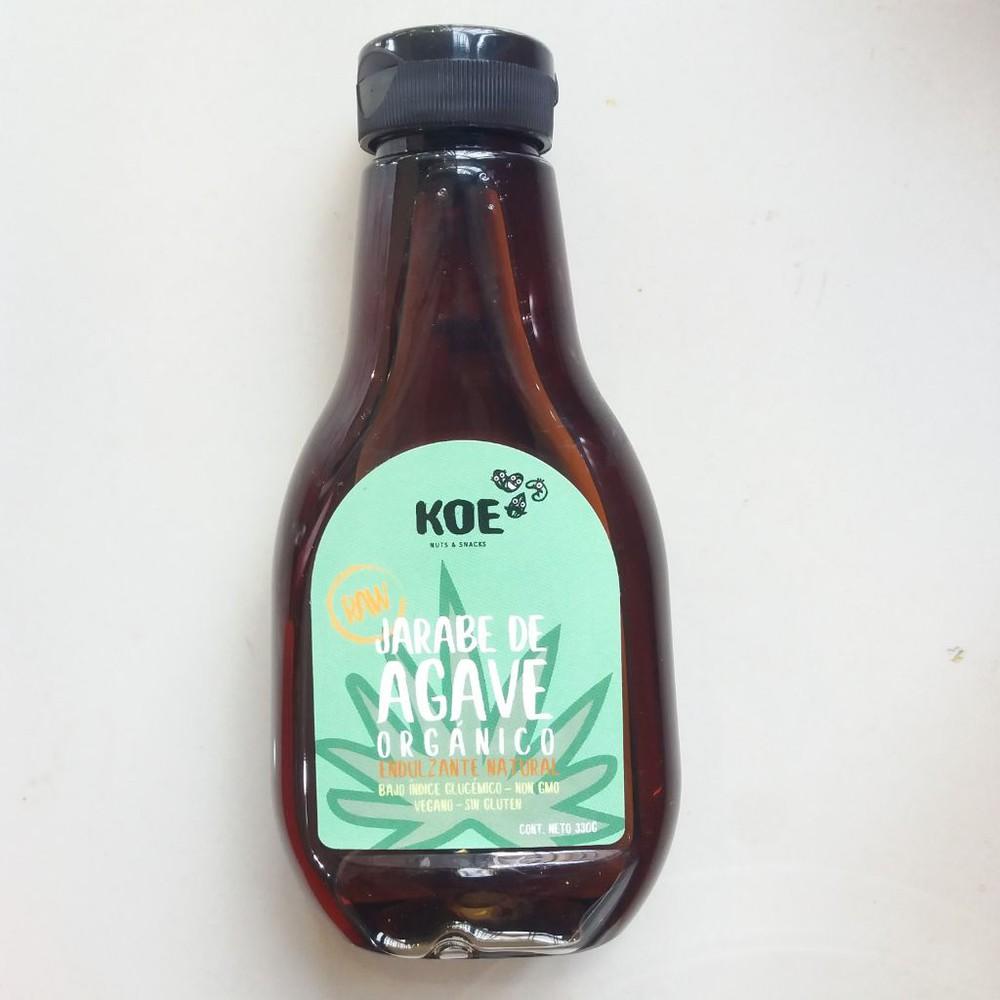 Jarabe de agave orgánico raw koe