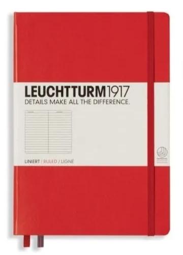 Libreta Líneas Roja