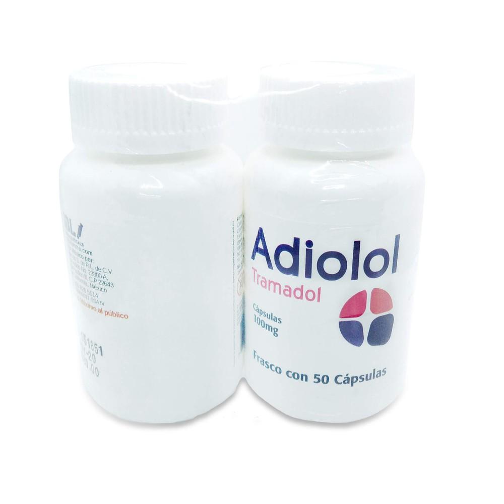 Adiolol cápsulas 100 mg