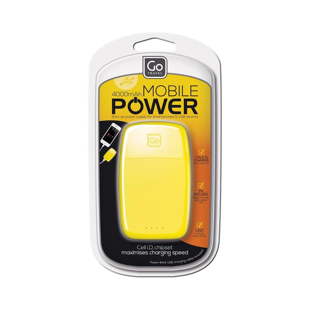 Batería plus 4000 mah amarilla GT966AMA